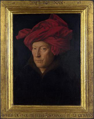 Hombre con Turbante Rojo, de Jan van Eyck