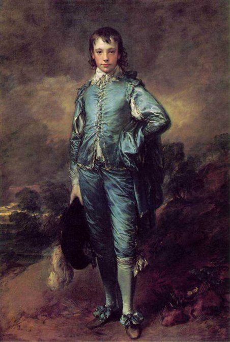 "Thomas Gainsborough, ""El Niño Azul"""